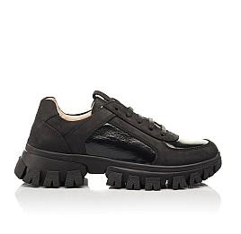 Детские кроссовки Woopy Fashion черные для девочек натуральный нубук размер 31-40 (8273) Фото 5