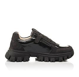 Детские кроссовки Woopy Fashion черные для девочек натуральный нубук размер 31-40 (8273) Фото 6