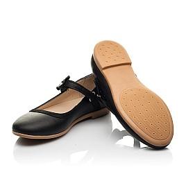 Детские туфли Woopy Fashion черные для девочек натуральная кожа размер 29-36 (8294) Фото 2