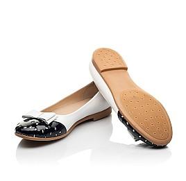 Детские туфли Woopy Fashion белые для девочек натуральная кожа размер 34-39 (8340) Фото 2