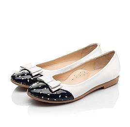 Детские туфли Woopy Fashion белые для девочек натуральная кожа размер 34-39 (8340) Фото 3