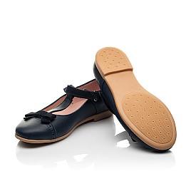 Детские туфли Woopy Fashion синие для девочек натуральная кожа размер 29-37 (8348) Фото 2